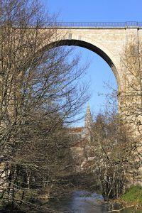 Semur-en-Auxois spoorbrug