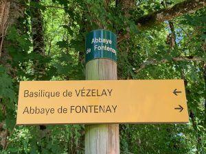 Pelgrimspad Vezelay-Fontenay