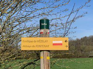 pelgrimsroute Vezelay-Fontenay