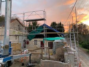 Verbouwen in Frankrijk week 1