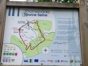 Promenade Source -Seine