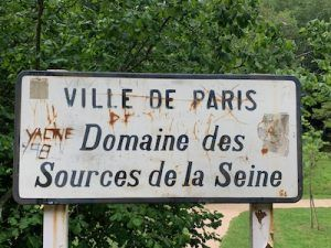 Wandelen in het dal van de Seine