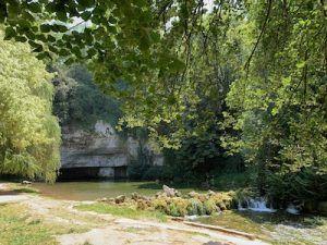 bron van de Douix Chatillon sur Seine
